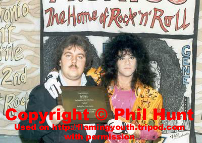 Phil Hunt and Eric Carr
