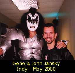 Gene & John Jansky in Indy, May 2002